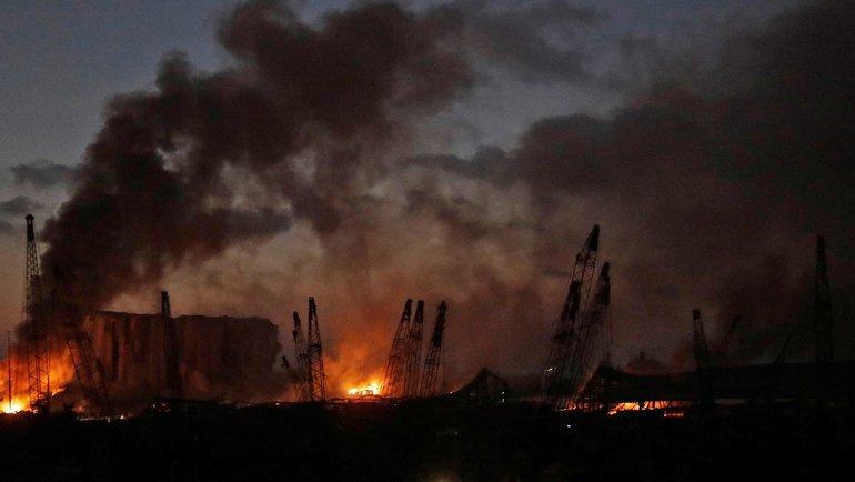 Взрыв в Бейруте. Фото AFP