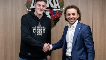 ЦСКА подтвердил переход Гайча