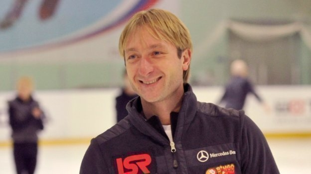 Евгений Плющенко. Фото Татьяна Дорогутина.