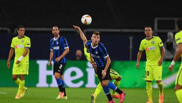 «Интер» обыграл «Хетафе» вЛиге Европы благодаря голам Лукаку иЭриксена