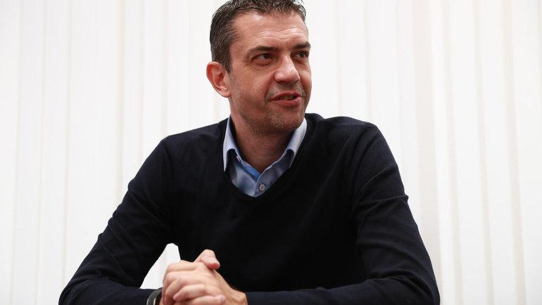 Глава департамента судейства РФС Виктор Кашшаи. Фото Александр Федоров, «СЭ» / Canon EOS-1D X Mark II