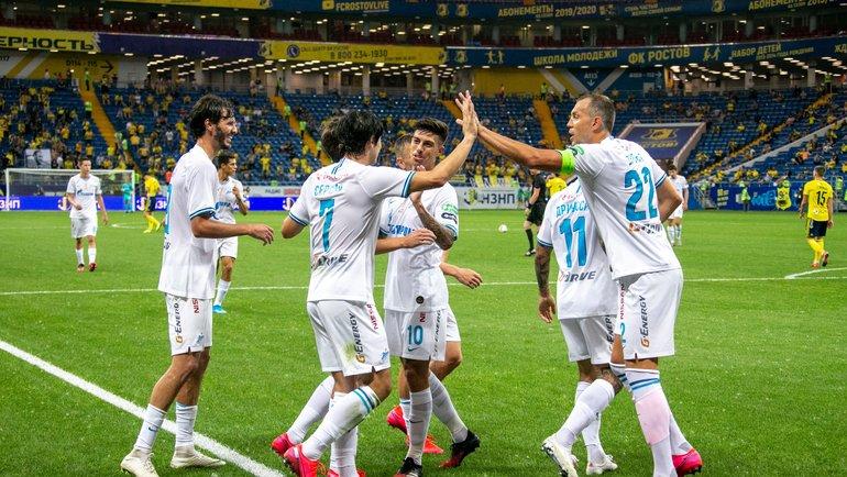 Игроки «Зенита». Фото ФК «Зенит»