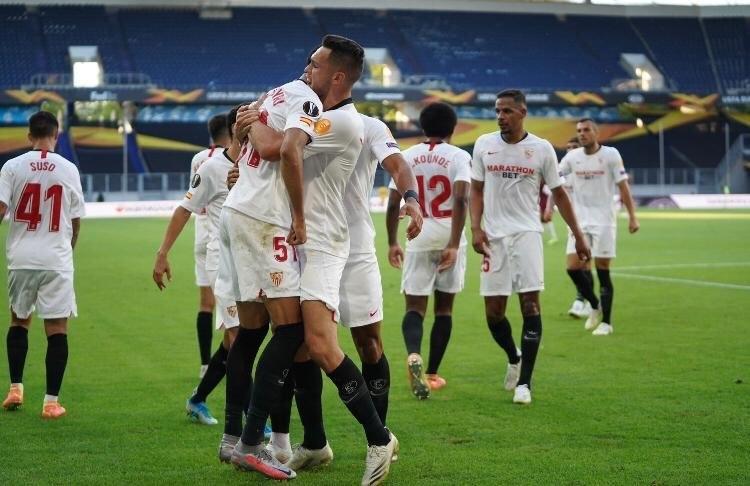 6августа. «Севилья»— «Рома»— 2:0. Испанский клуб— вчетвертьфинале. Фото Twitter