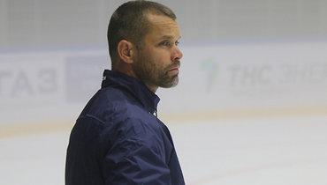Тренер вратарей «Металлурга» Клемен Мохорич.
