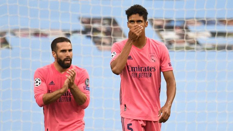 7августа. Манчестер. «Манчестер Сити»— «Реал»— 2:1. Рафаэль Варан. Фото AFP