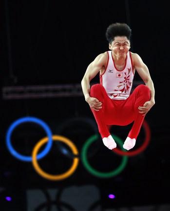 Гимнаст Масаки ИТО. Фото AFP.
