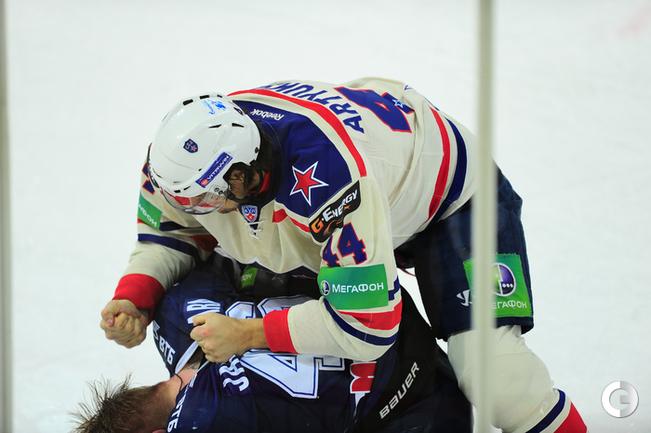 Реванш СКА в Москве