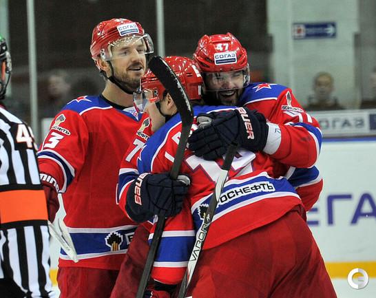 Победный гол Игоря Радулова.