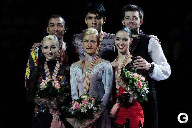 Волосожар и Траньков защитили титул чемпионов Европы