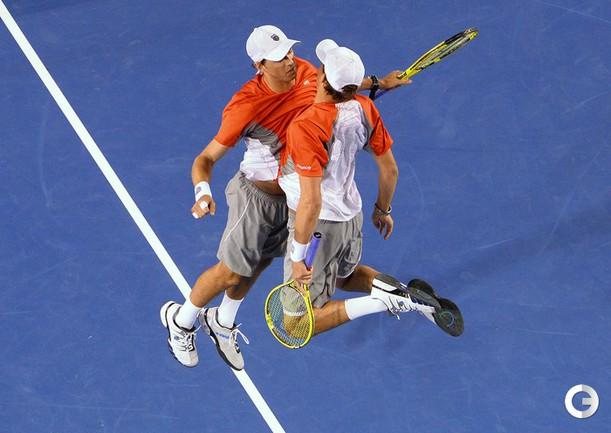 Боб и Майк БРАЙАНЫ. Фото AFP.