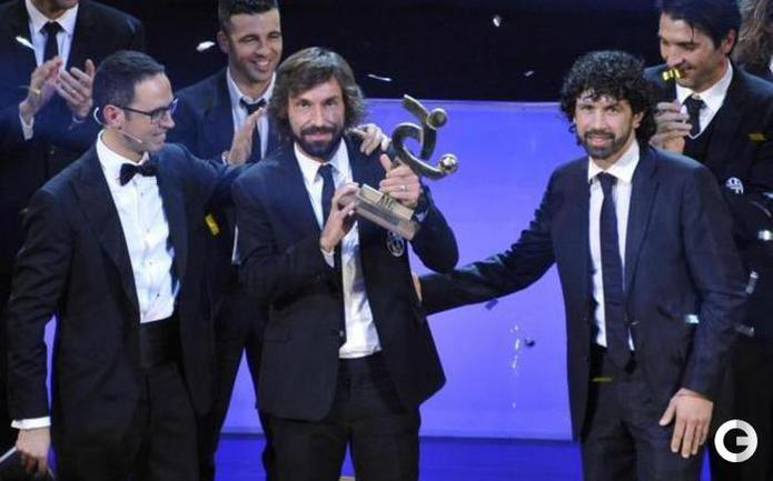 Андреа Пирло - лучший футболист в Италии
