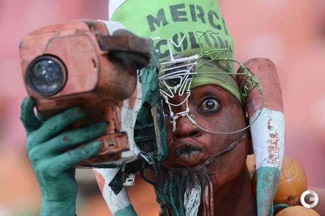 Болельщик Нигера. Фото AFP.