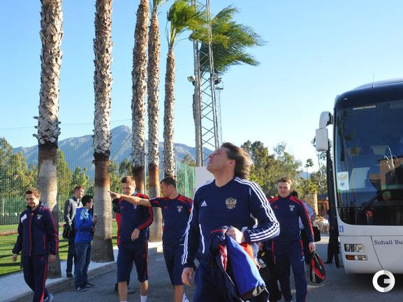 Ураганная сборная. Россия готовится к матчу с Исландией