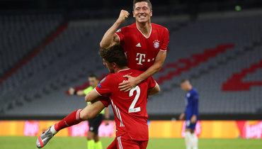 8августа. Мюнхен. «Бавария»— «Челси»— 4:1. Роберт Левандовски— герой матча.