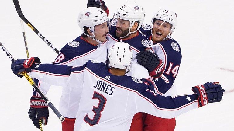 «Коламбус» обыграл «Торонто» всерии ивышел вследующий раунд плей-офф. Фото nhl.com
