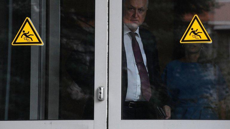 Глава РУСАДА Юрий Ганус. Фото AFP