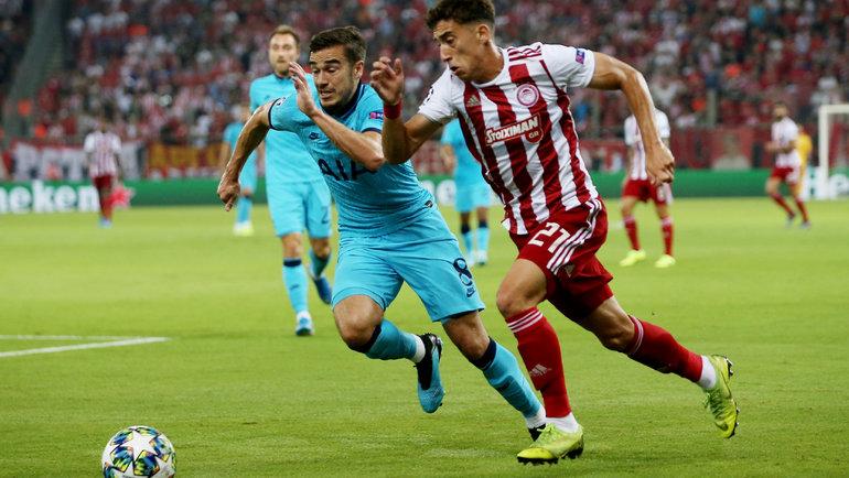 Костас Цимикас (справа). Фото Reuters