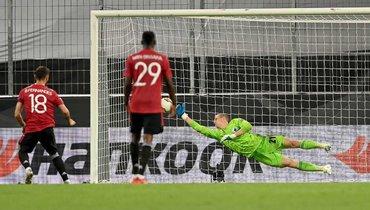 «Манчестер Юнайтед» вдополнительное время обыграл «Копенгаген» ивышел вполуфинал Лиги Европы