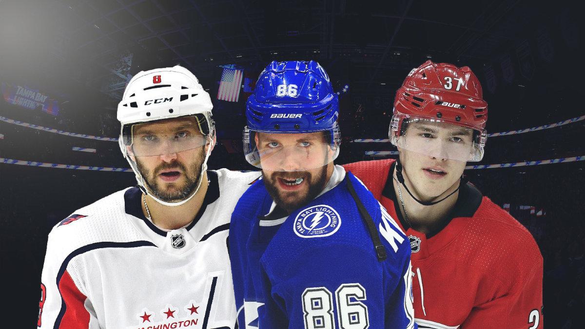 Овечкин победит бывшего тренера, Кучеров отомстит заразгром. Четвертьфиналы конференций НХЛ: кто пройдет дальше?