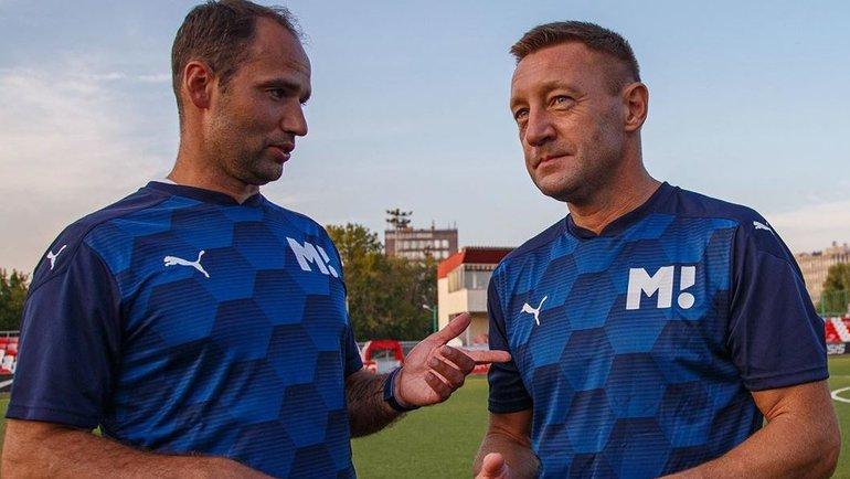 Роман Широков иАндрей Тихонов. Фото instagram.com