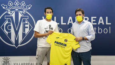 Парехо перешел из «Валенсии» в «Вильярреал», клуб объявил отрансфере спомощью фото дивана