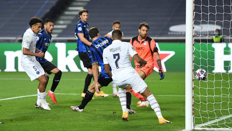 Матч «Аталанта»— «ПСЖ». Фото Reuters