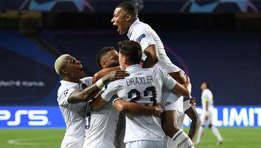 Мбаппе иНеймар «убили» «Аталанту» затри минуты. «ПСЖ»— вполуфинале Лиги чемпионов