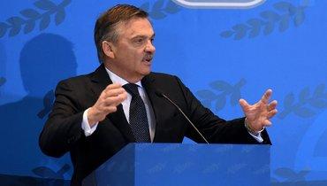 ИИХФ против вмешательства политики вспорт. ЧМможет остаться вБелоруссии