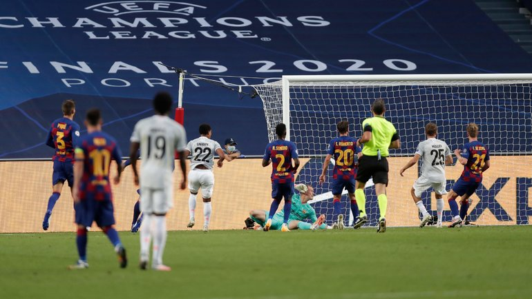 Матч «Барселона»— «Бавария». Фото AFP