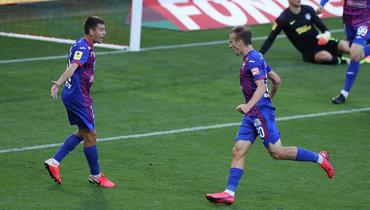 Дебютный гол Шкурина принес ЦСКА победу над «Тамбовом»