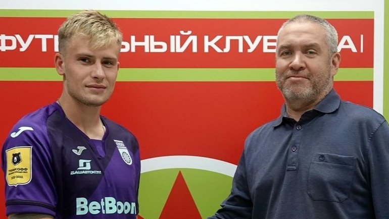 Олег Данченко (слева). Фото ФК «Уфа»