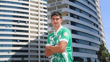 Защитник сборной Казахстана Быстров стал игроком «Ахмата»