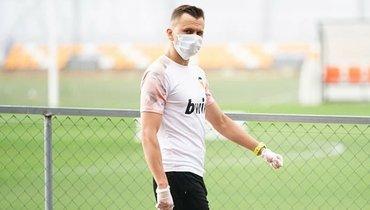 Черышев пропустил тренировку «Валенсии» из-за повреждения