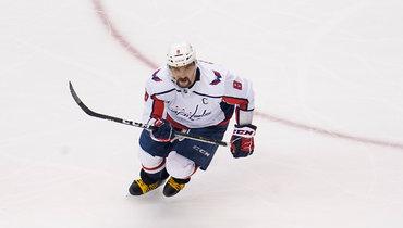 Овечкин вышел на18-е место поголам вплей-офф НХЛ