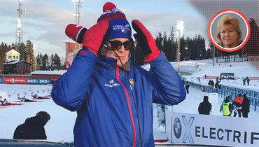 «Вяльбе борется заспортсменов исмогла отодвинуть откоманды Губерниева». Мнение Анфисы Резцовой осборной иСБР