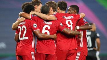 «Лион»— «Бавария»: все голы матча