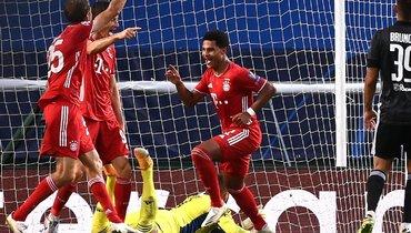 Гнабри стал вторым немцем, который оформил дубль вполуфинале Лиги чемпионов