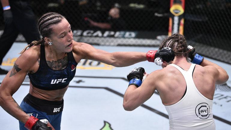 Мария Агапова — Шана Добсон: UFC Fight Night, 22 августа, где смотреть,  видеотрансляция. Спорт-Экспресс