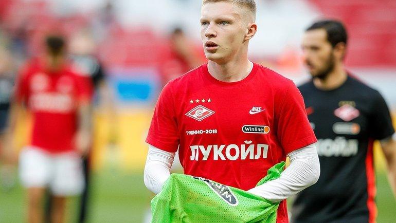 Николай Рассказов. Фото ФК «Спартак»
