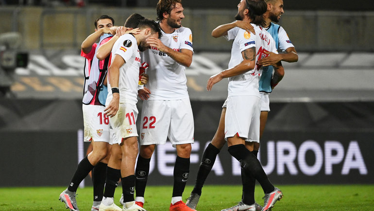 Игроки «Севильи». Фото Reuters