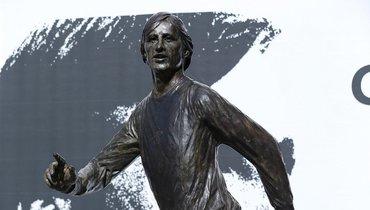 Возле стадиона «Аякса» открыт памятник Йохану Кройфу