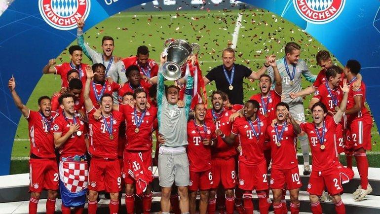 «Бавария» выиграла Лигу чемпионов сезона-2019/20. Фото ФК «Бавария».