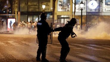 ВПариже произошли массовые беспорядки после поражения «ПСЖ» от «Баварии»