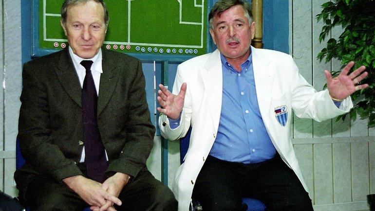 Владимир Сальков иВладимир Горюнов. Фото Андрей Мирейко