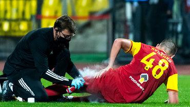 Врач «Арсенала» назвал характер травмы исроки восстановления Луценко