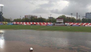 Матч «Спартак-2»— «Краснодар-2» перенесен из-за ливня