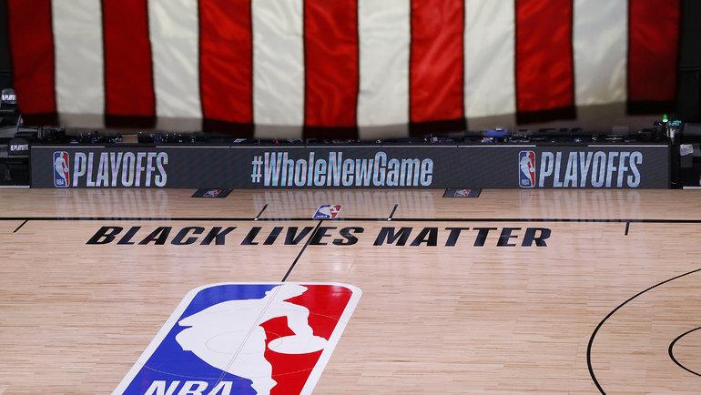 26августа. Орландо. Игроки «Милуоки» отказались выходить наигру плей-офф НБА против «Орландо». Фото Kevin C. Cox/Pool Photo, USA Today Sports