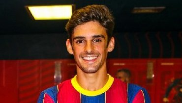 «Барселона» представила Тринкана