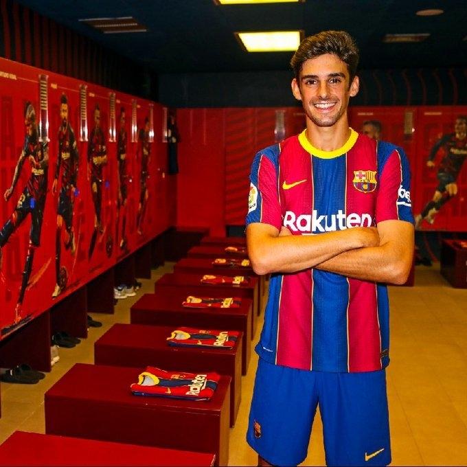Тринкан. Фото ФК «Барселона».