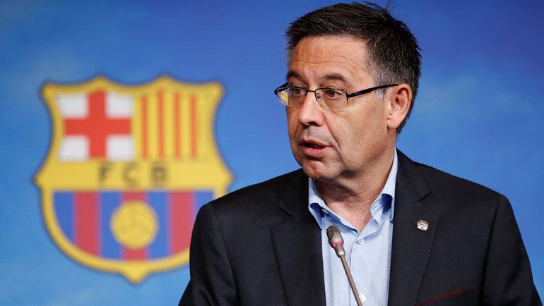 Жозеп Бартомеу. Фото Reuters